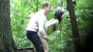 Look at this dark-haired hottie getting her sweet beaver group-fucked from behind deep