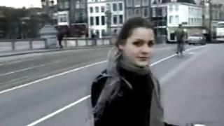 Slutty girlfriend on her knees blowing her boyfriend's naughty hard cock
