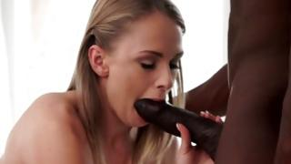 Horny interracial cramming with sluttish ex girlfriend