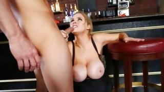 Incomparable sluttish gal is jamming the cock