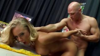 Precious blondie got her brutally fucked
