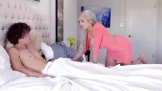 First-class mamma and nice daughter fuck infant fellow