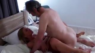 Sensuous scones model invited and smashed old hunk