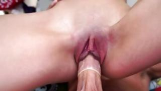 Priceless girl is pleading a priceless beating with her hardened boy
