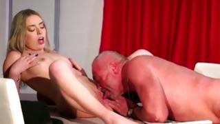 Bitchy callow perform deep face hole and fuck loud with mature somebody
