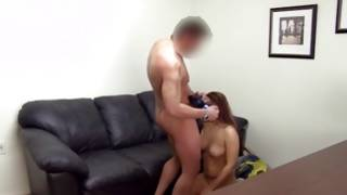 Horny hot young woman is going to undress her totally